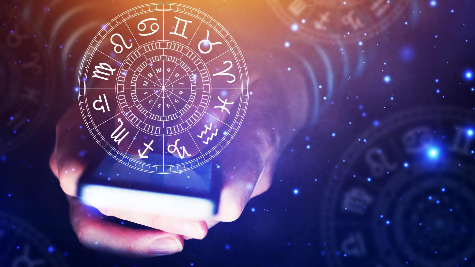 Astrology symbols.